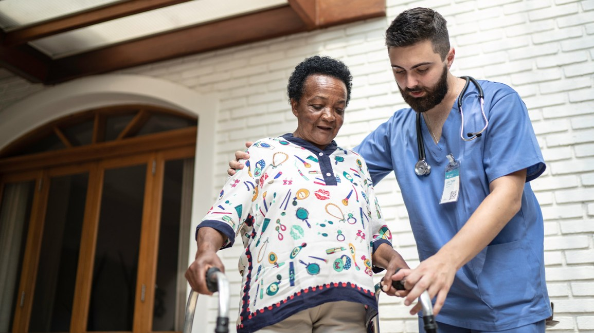 working with a Medicare covered caregiver