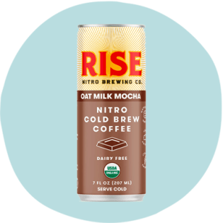 RISE Brewing Co. Oat Milk Mocha Nitro Cold Brew
