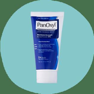 PanOxyl Foaming Wash, 10 percent benzoyl peroxide