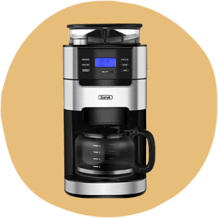 GEVI 10-Cup Programmable Drip Coffee Machine