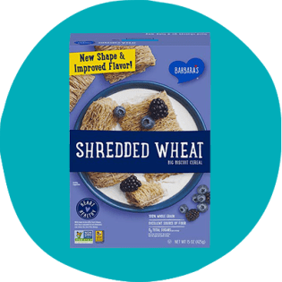Barbara's Shredded Wheat Cereal