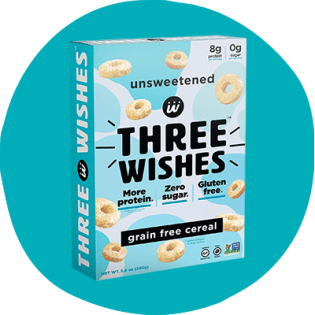 Three Wishes Grain-Free Unsweetened Cereal