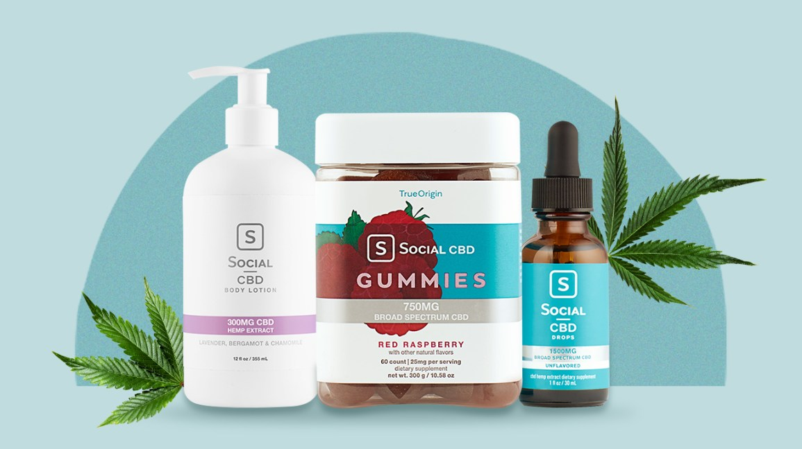 Social CBD products