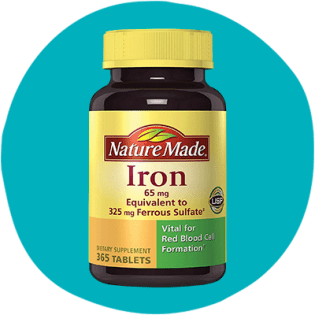 Nature Made's Iron