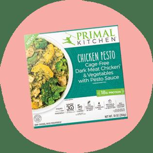 Primal Kitchen Chicken Pesto Bowl