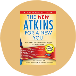 'New Atkins for a New You' by Eric Westman, Stephen Phinney, and Jeff Volek
