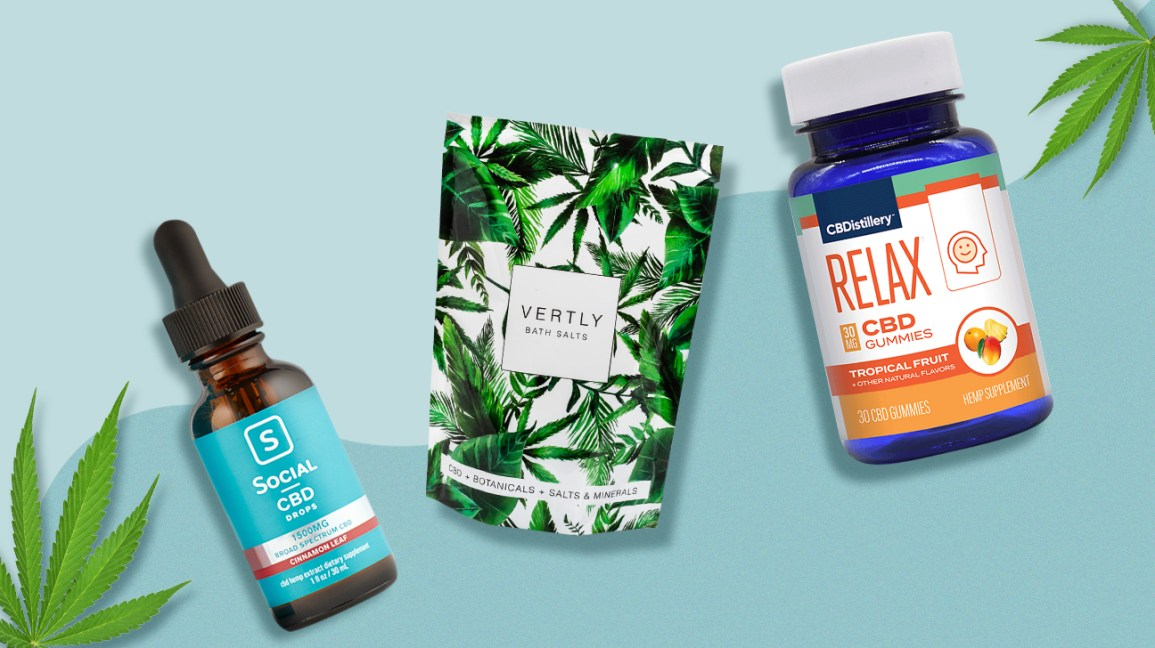 Full-spectrum and broad-spectrum CBD products