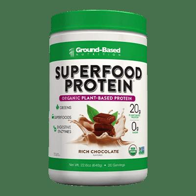 Ground Based Suprfood Organic Plant Based Protein Powder