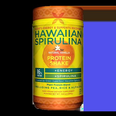 Hawaiian Spirulina Plant Protein Shake