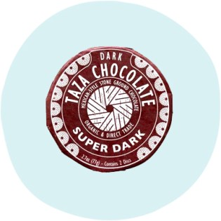 Taza 85% Super Dark Chocolate Disks