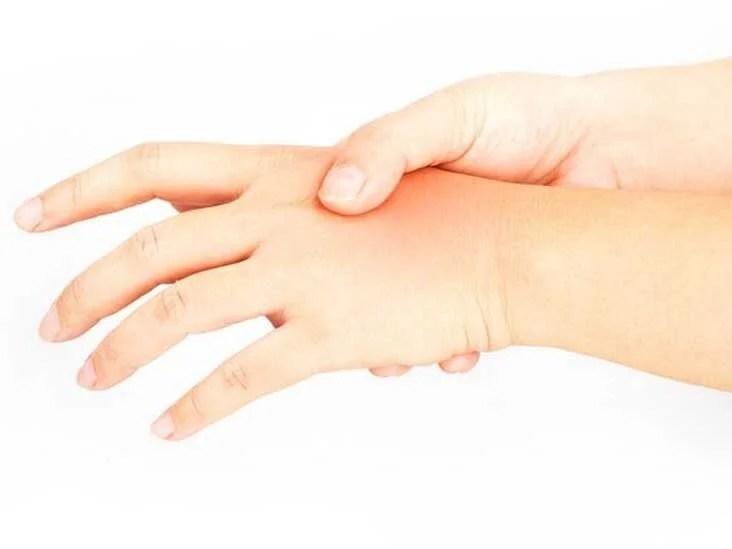 skulder hand finger syndrom