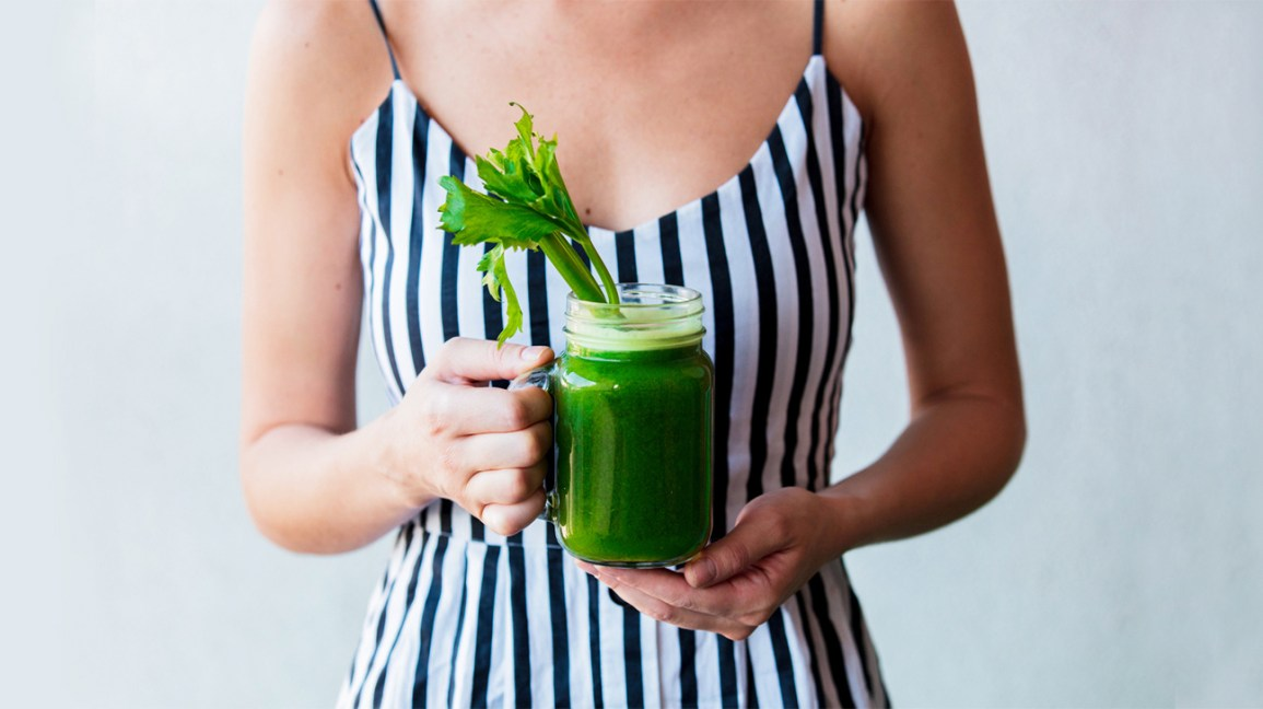 Green smoothie as a Way to Eat More Vegetables