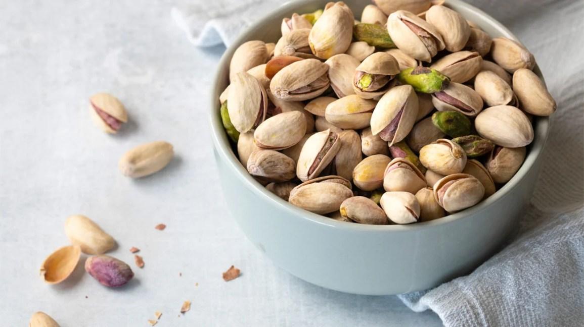 Bowl of pistachios