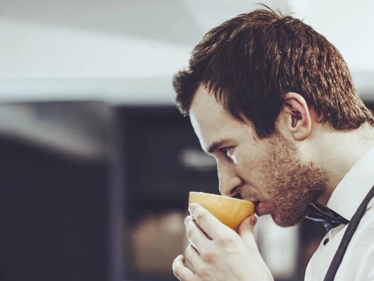 does diet affect saliva taste