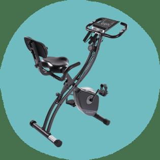 دوچرخه تمرین عمودی مغناطیسی تاشو MaxKare