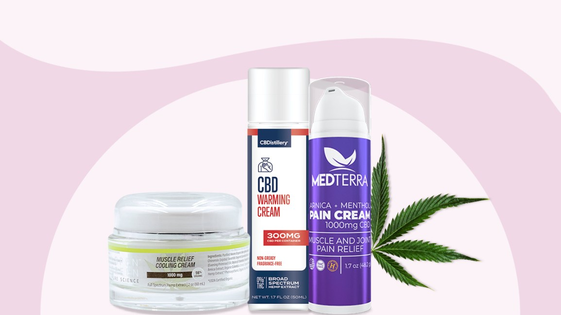 CBD creams for pain