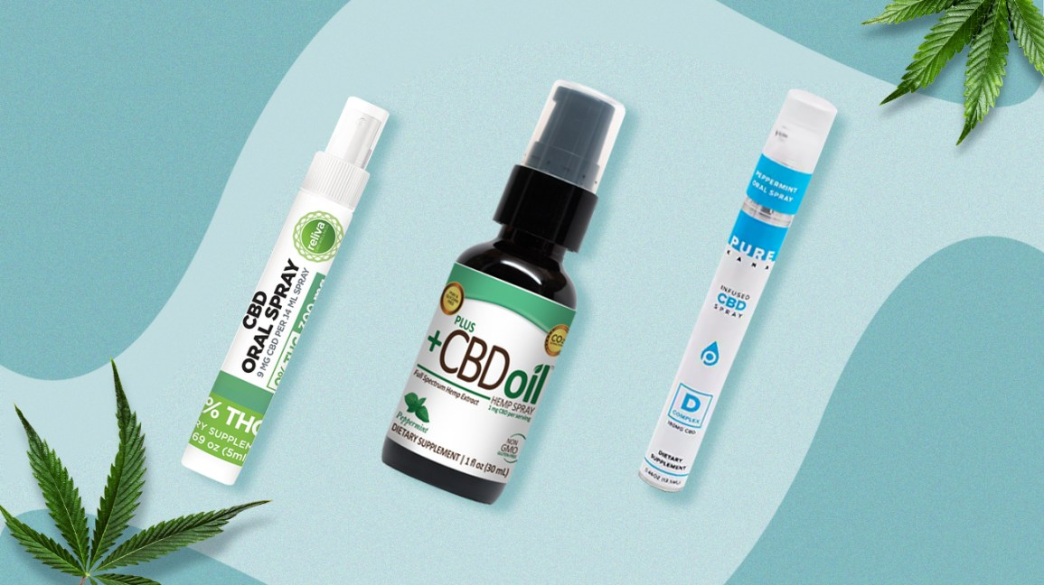 Spray orali al CBD