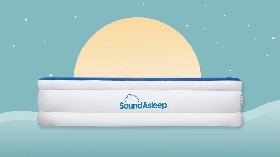 materasso ad aria serie soundasleep dream