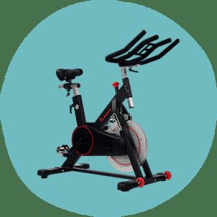 Bicicleta de ciclismo indoor com correia magnética Sunny Health & Fitness