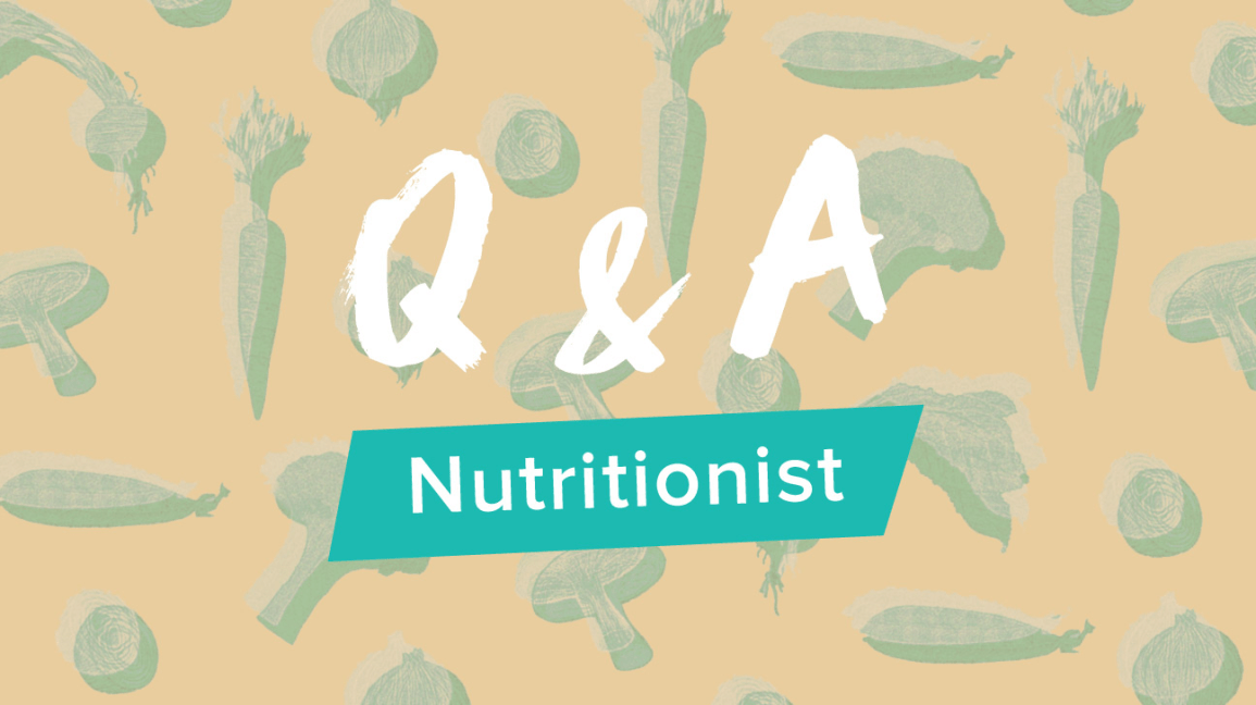Q&A Nutritionist Header