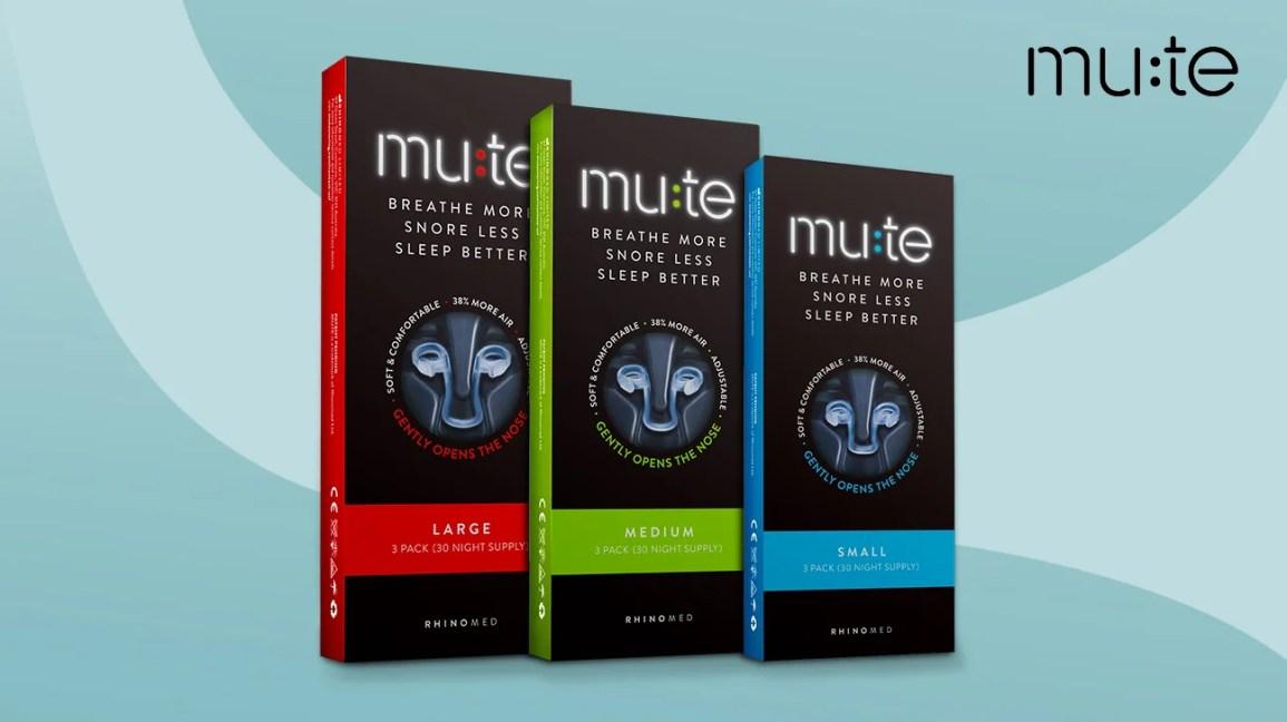 mute snoring packaging