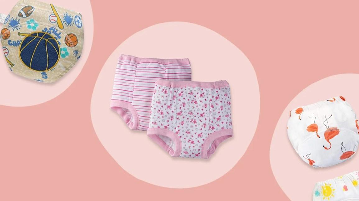 Gebuter Baby Training Pants Reusable Comfortable Toddler Training Pants for Babies Girls Boys Underwear Potty Training Pants