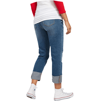 Best Maternity Jeans 2021 Full Panel Side Panel Jeggings And More