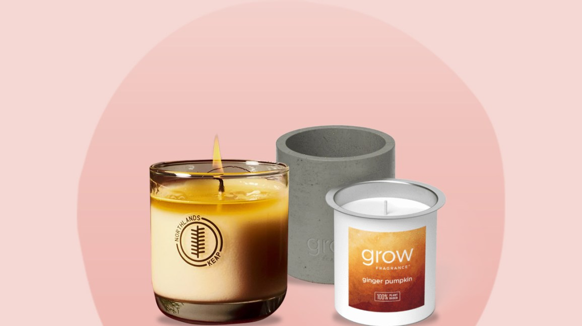 Nontoxic candles