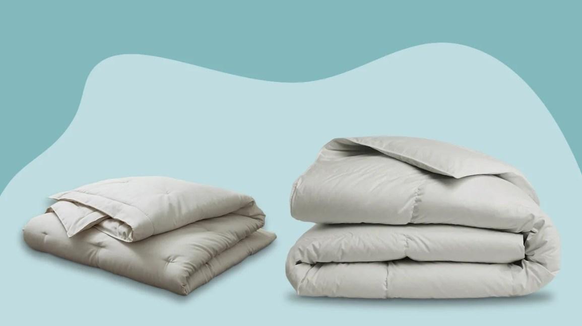 two comforters