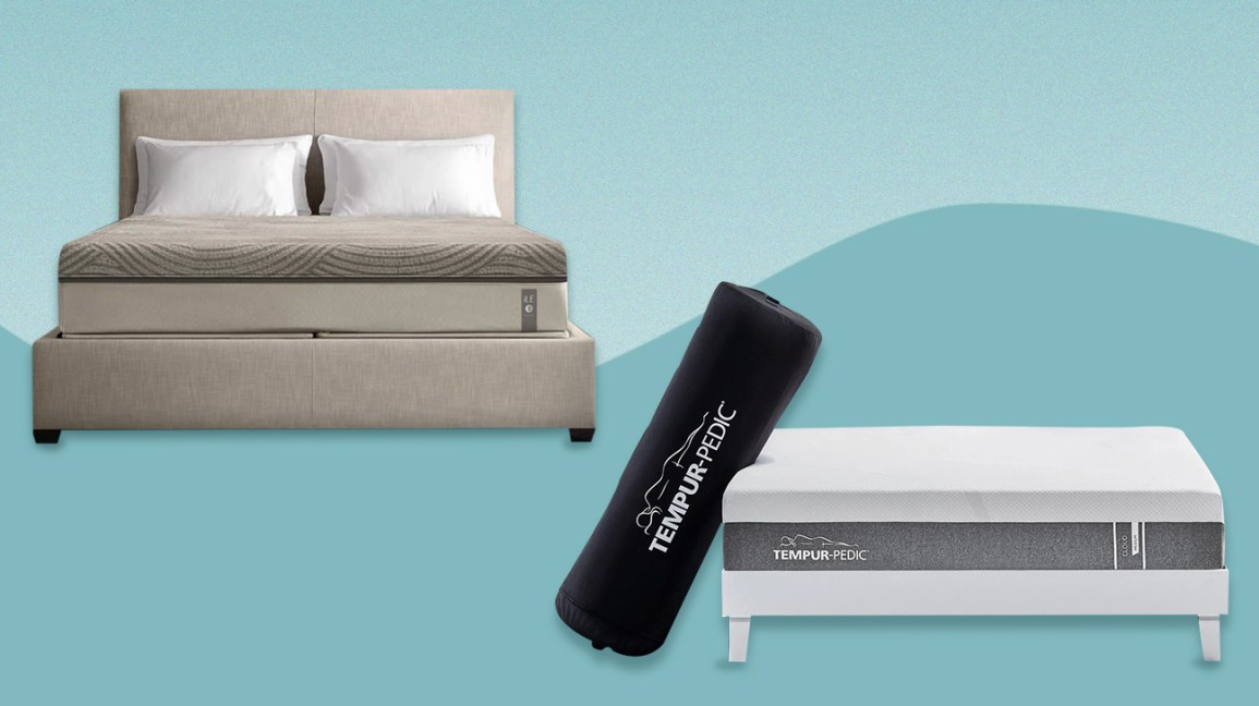 Tempur-Pedic and Sleep Number mattresses