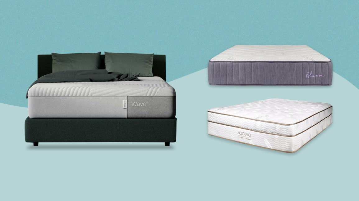Casper, Bloom, and Saatva mattress