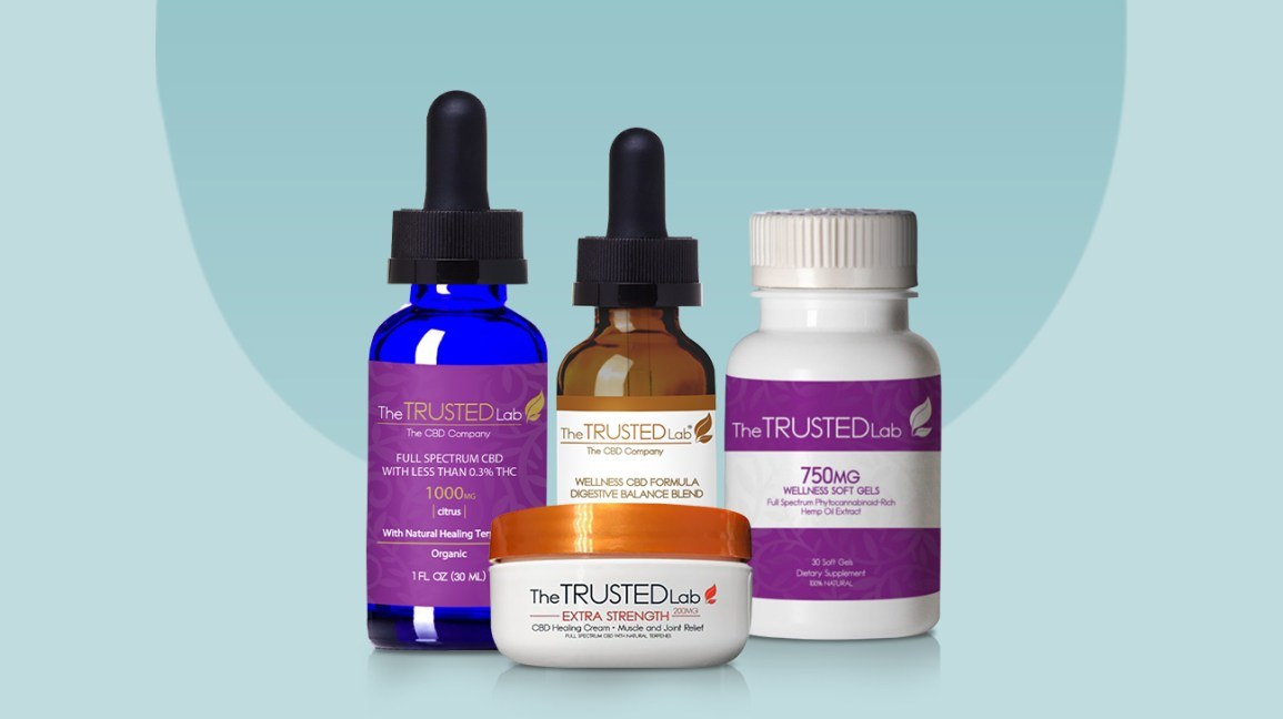 The Trusted Lab CBD products