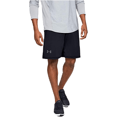 Mens Sport Shorts Quick Dry Running Gym Casual Short Lightweight Walking Shorts with Zip Pockets