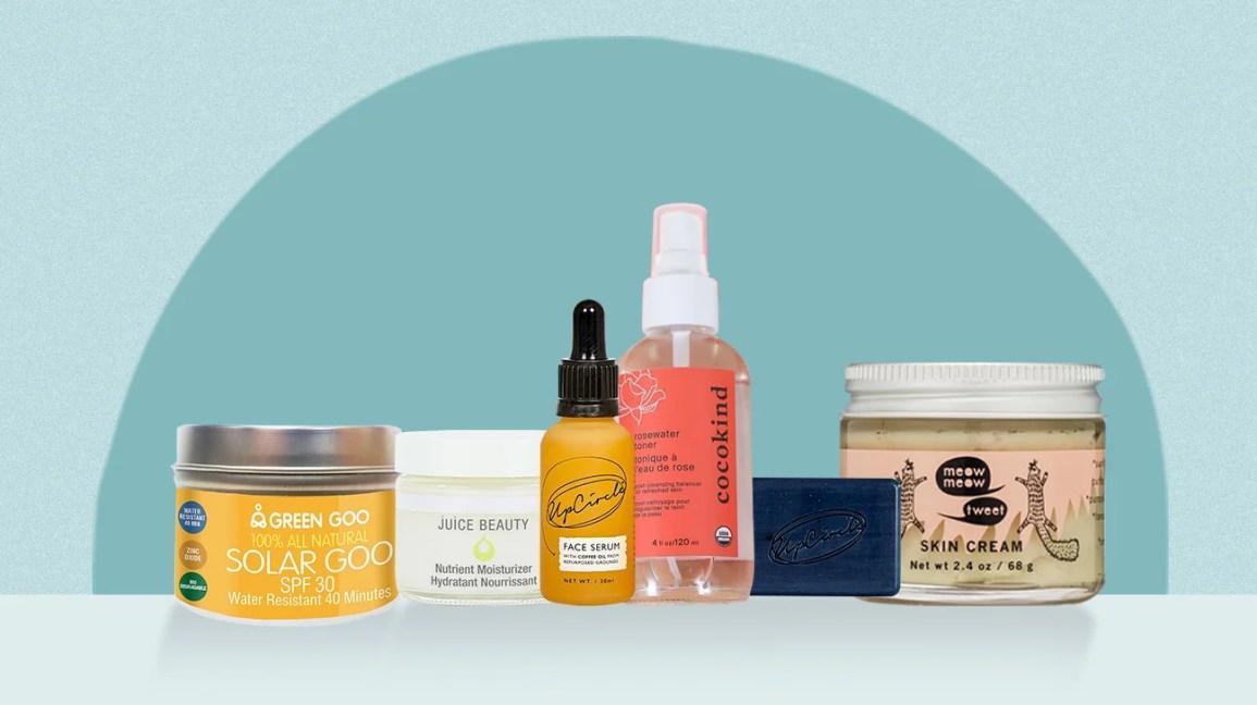 plastic-free skin care