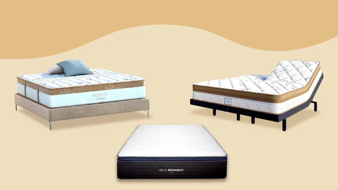 Saatva and Helix mattresses