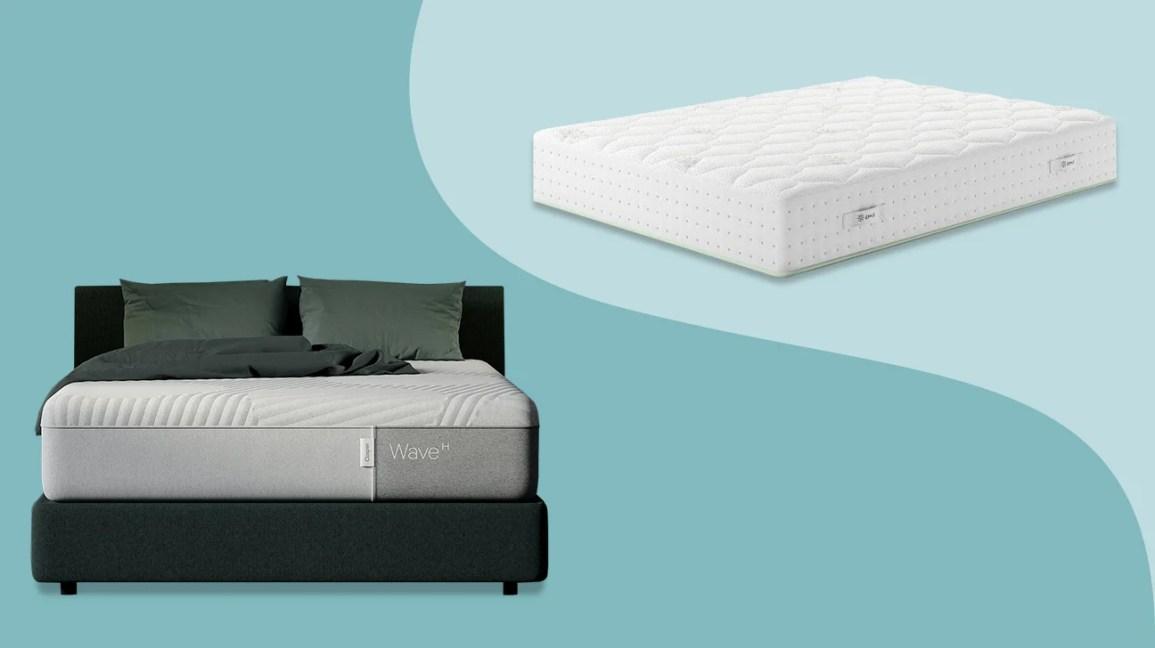 Casper and Zinus mattress