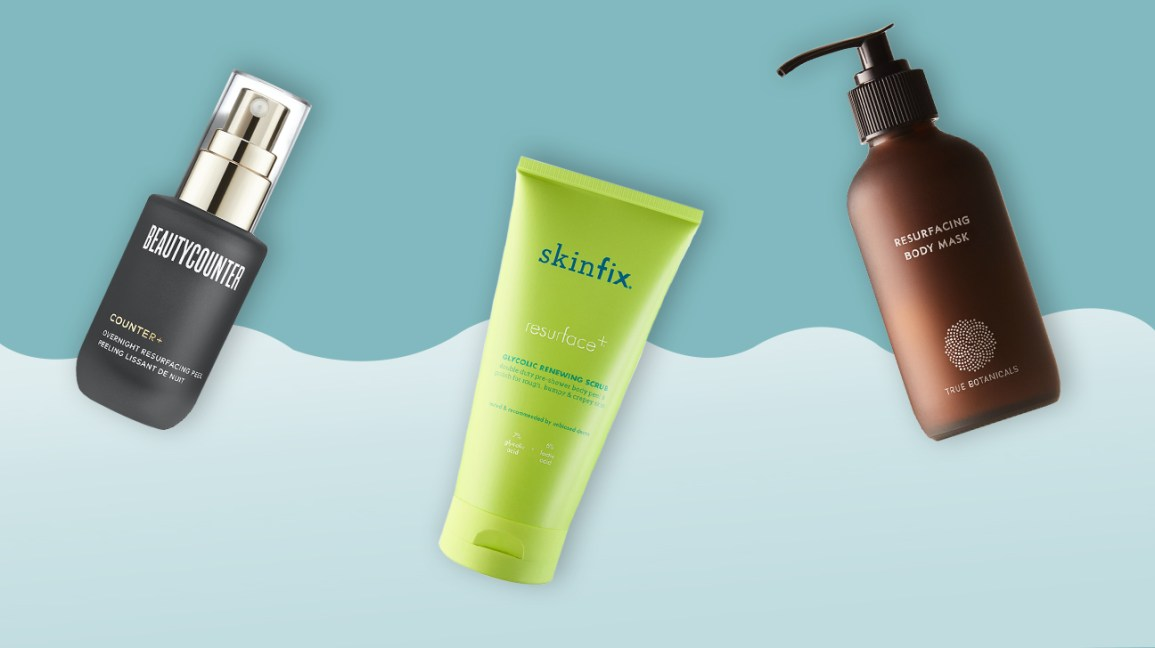 Organic exfoliators for sensitive skin