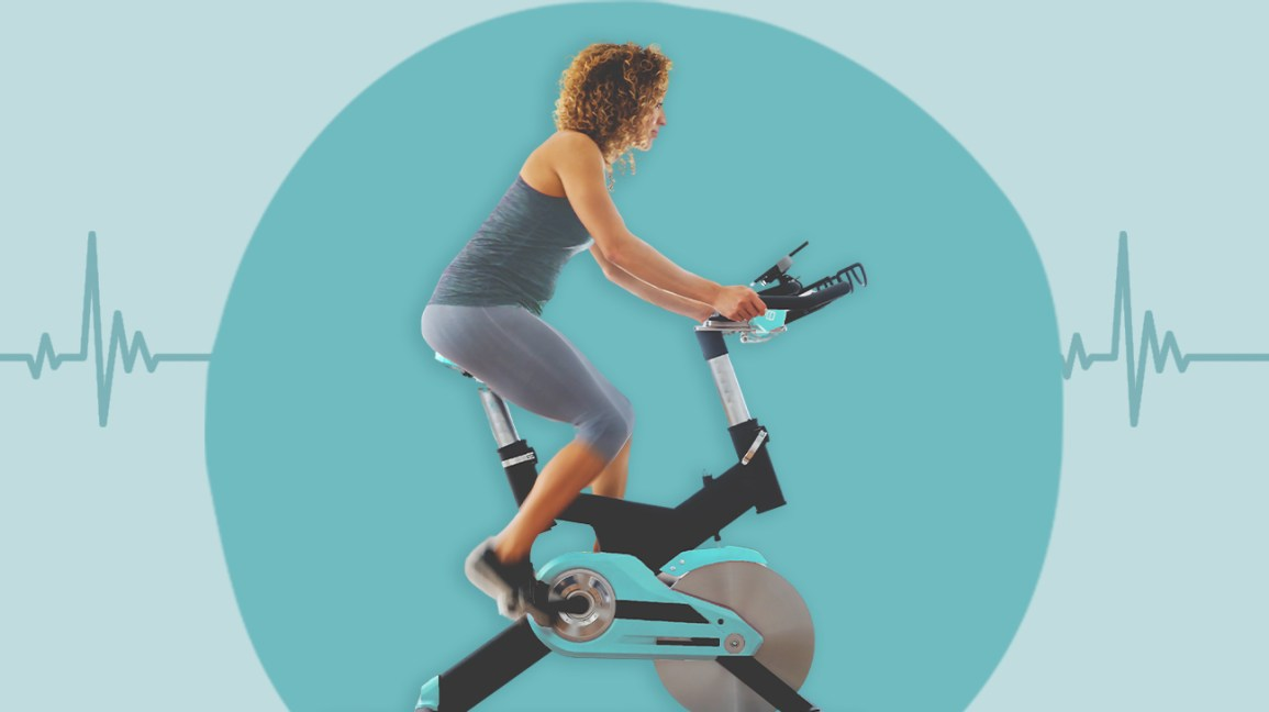 Foldable Upright Exercise Bike Magnetic X-BIKE Cardio Workout Cycling Stationary
