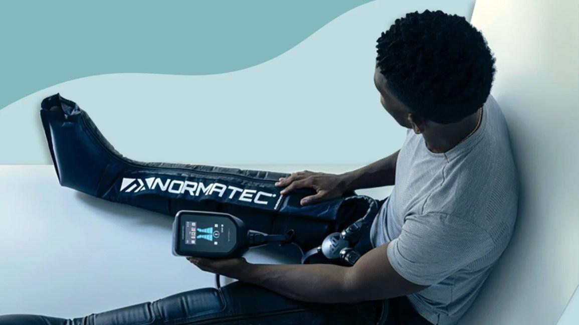 Revisão do dispositivo de terapia de compressão Normatec