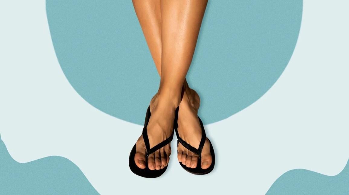 Good For Health flip flops