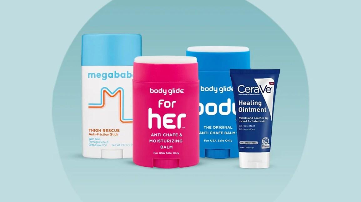 Produtos para prevenir o atrito da pele