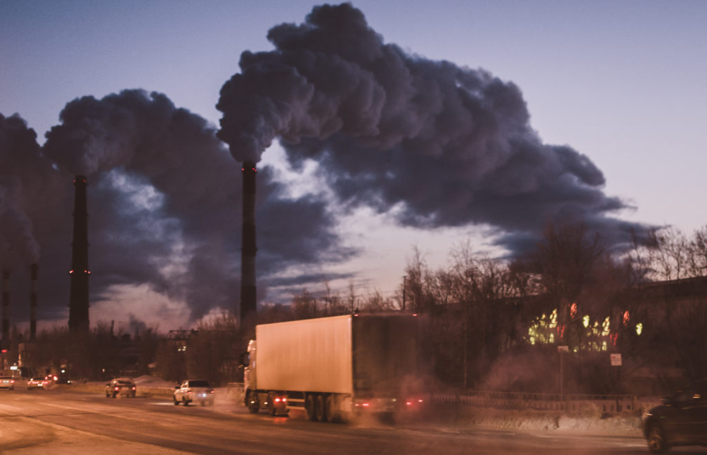Could air pollution increase heart attack risk?