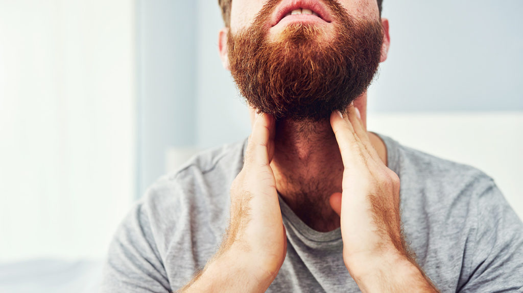 What Causes A Sore Throat And Swollen Glands