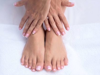 What could cause tingling in the feet or hands?
