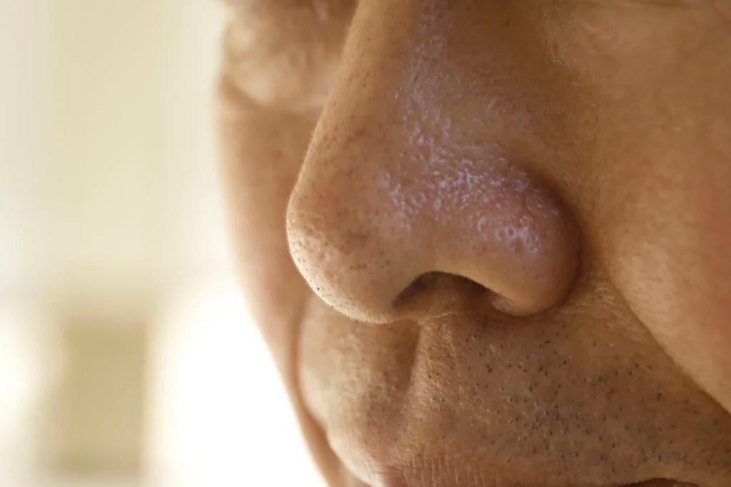 gros plan d'un nez