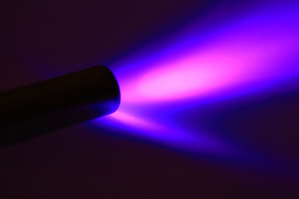 ultraviolet light flashlight