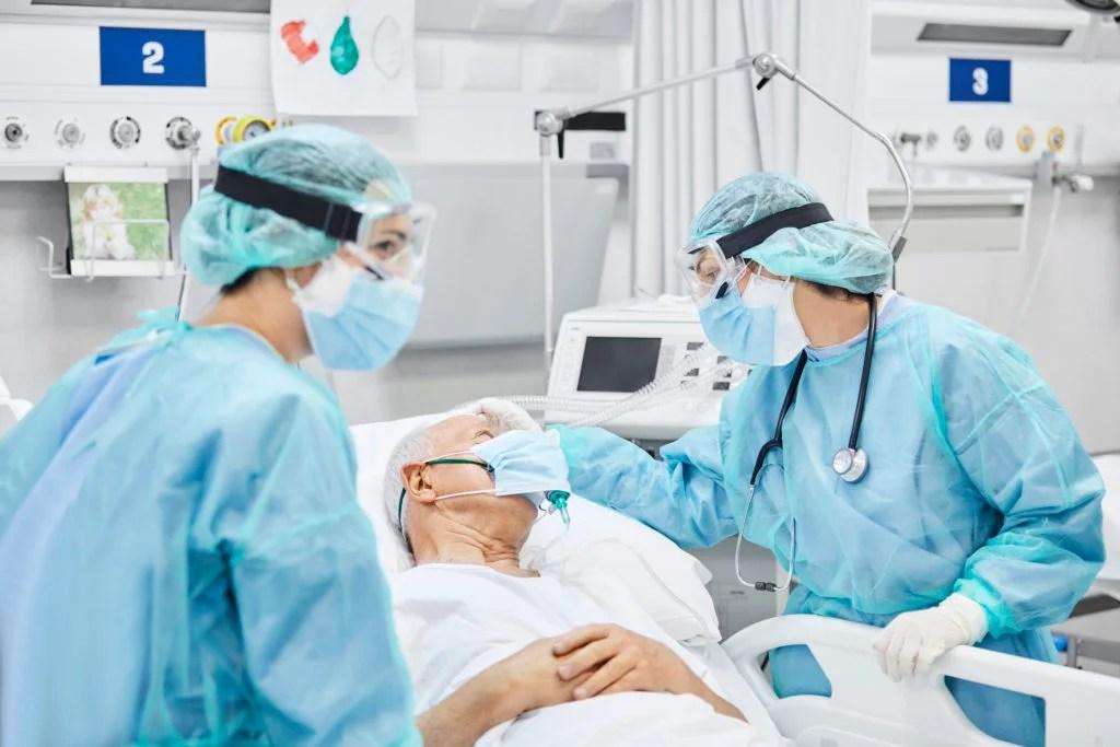 Patient traité à l'hôpital
