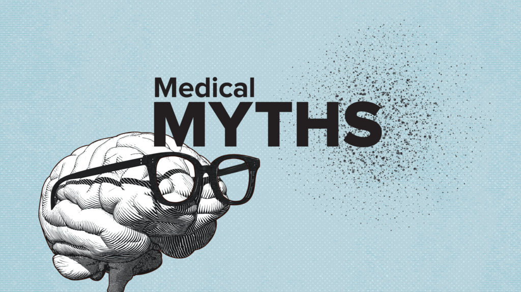 Medical myths logo