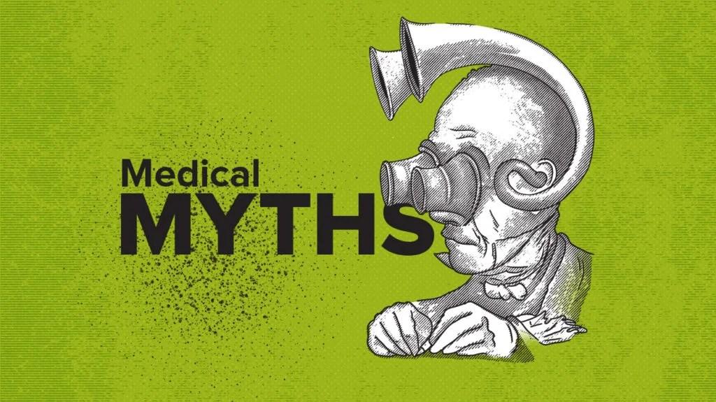 Логотип медицинских мифов