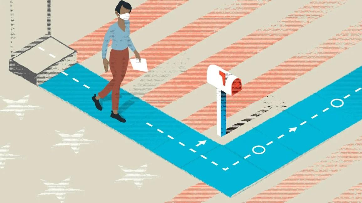 人走的图片到邮箱发布了他们对美国大选投票